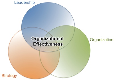 aligning leadership, strategy, and organization produce organizational effectiveness